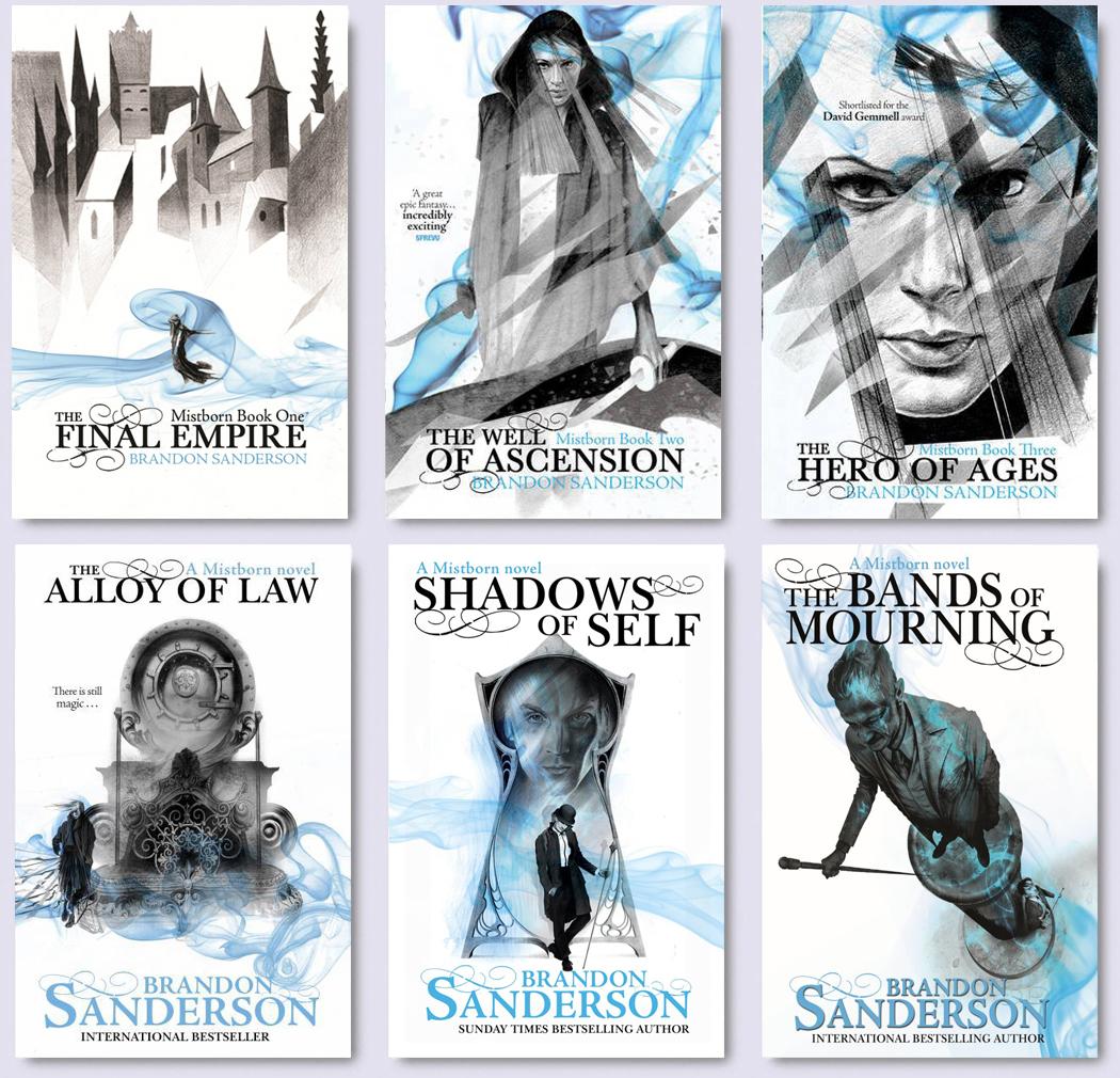 Image result for brandon sanderson books