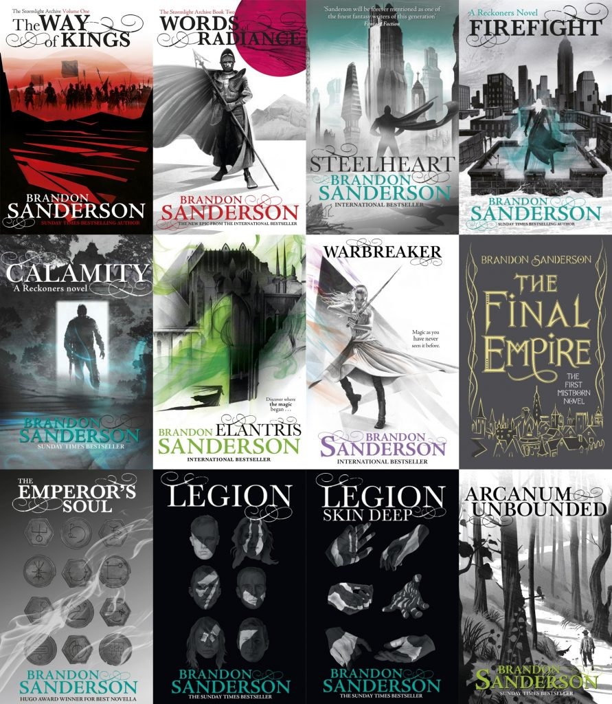 Brandon Sanderson Zeno Agency Ltd