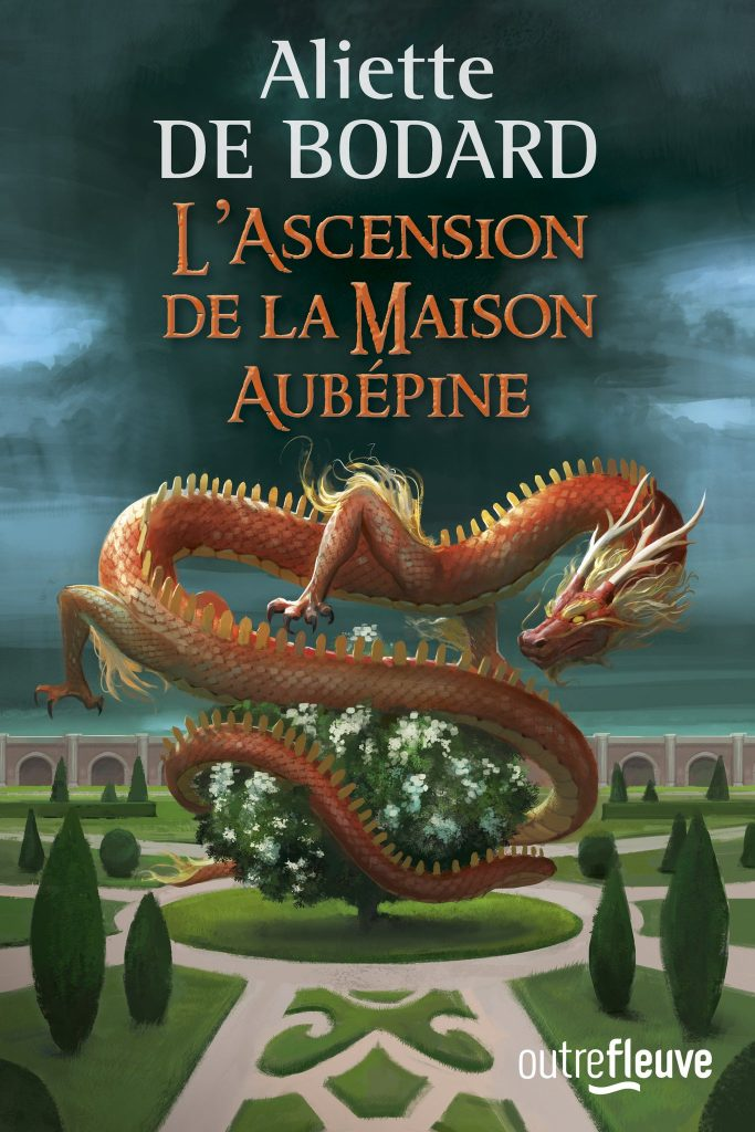 Last Week Fleuve Editions Unveiled The Cover For French Edition Of Aliette De Bodards THE HOUSE OF BINDING THORNS Second Novel In Authors